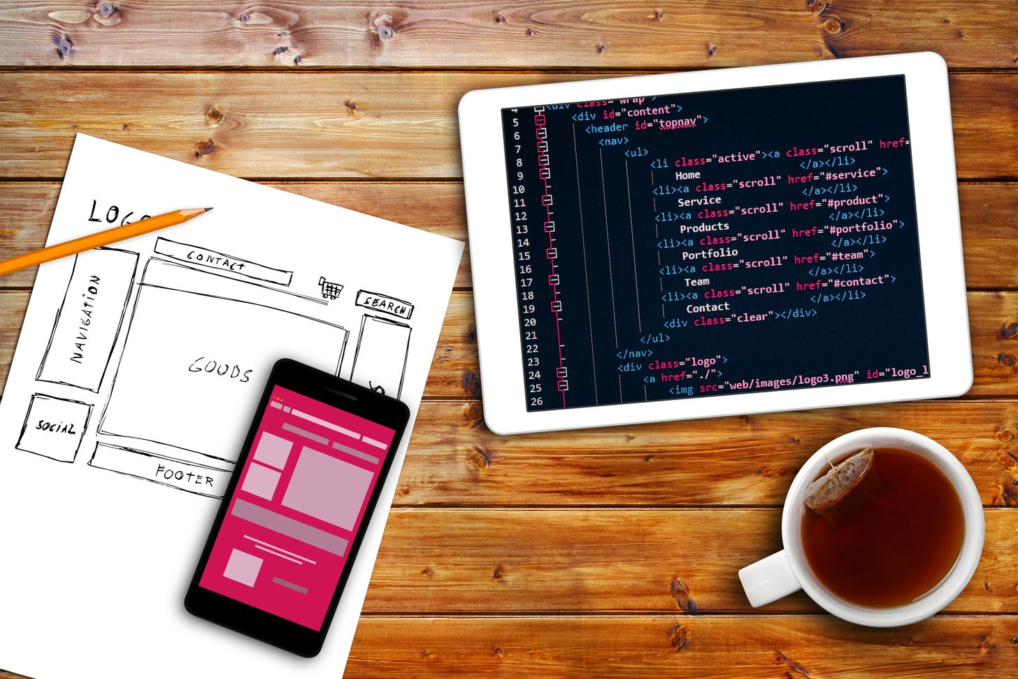 website wireframe sketch and code.jpg